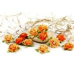 Prima - Fairytale Roses Collection - Miniature Mulberry Flower Embellishments - Poppyfield, CLEARANCE