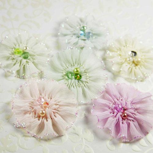 Prima - Ballerina Blooms Collection - Fabric Flower Embellishments - Recital