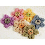 Prima - Ballerina Blooms Collection - Fabric Flower Embellishments - Margot