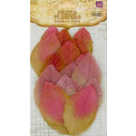 Prima - Calcutta Collection - Fabric Leaves - Sauterne, CLEARANCE