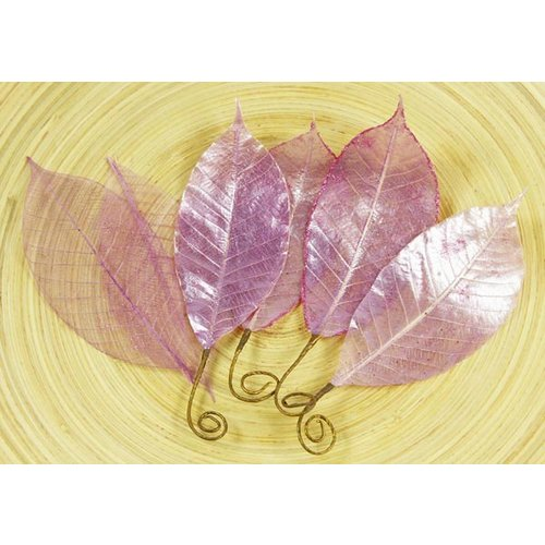 Prima - Temple Collection - Lacquered Leaves - Muang Lilac, CLEARANCE