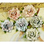 Prima - Belle Artes Collection - Mulberry Flower Embellishments - Prose, CLEARANCE