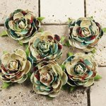 Prima - Belle Arte Collection - Mulberry Flower Embellishments - Nuveau, CLEARANCE