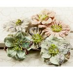 Prima - Flights of Fancy Collection - Flower Embellishments - Mix 2, CLEARANCE