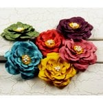 Prima - Umbrella Collection - Flower Embellishments - Mix 1, CLEARANCE