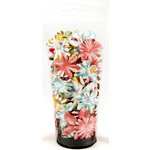 Prima - Umbrella Collection - Flower Embellishments - Essentials Large, CLEARANCE