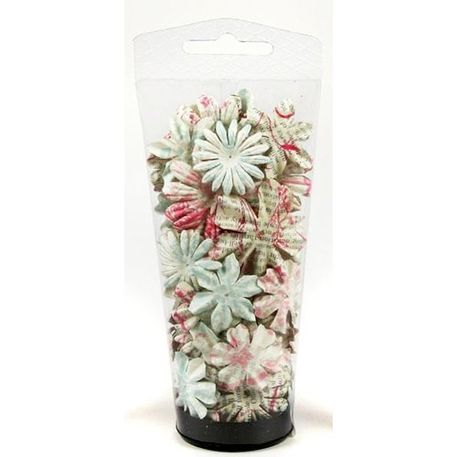 Prima - Shabby Chic Collection - Flower Embellishments - Essentials Large