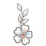 Prima - Say It In Crystals Collection - Self Adhesive Jewel Art - Bling - Flower - Multicolor 2, CLEARANCE