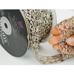 Prima - Lace Collection - Smoky Interlace Spool - 30 Yards