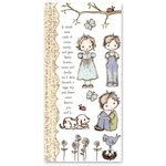 Prima - Jack and Jill Collection - Rub Ons