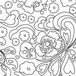 Prima - Paintable Clear Acrylic Stamps - Flower 1, CLEARANCE