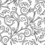 Prima - Paintable Clear Acrylic Stamps - Swirl