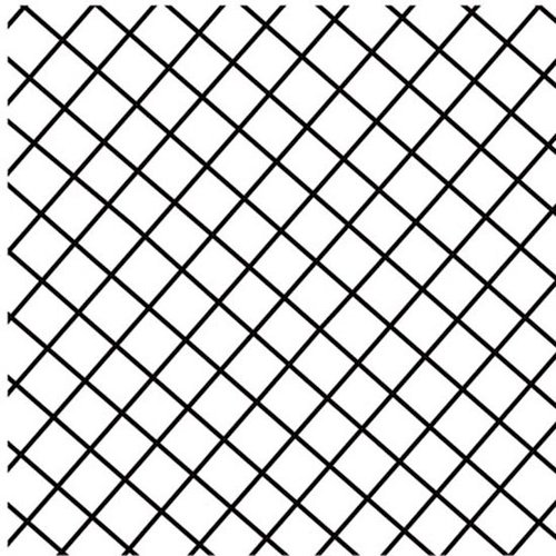 Prima - Paintable Clear Acrylic Stamps - Grid