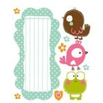 Prima - So Cute Collection - Clear Acrylic Stamps and Self Adhesive Jewels - Mix 2