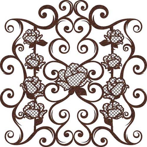 Prima - Self Adhesive - Die Cut Felt Art - Rose Gate, CLEARANCE