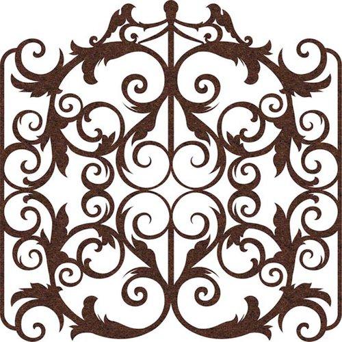 Prima - Self Adhesive - Die Cut Felt Art - Victorian Gate