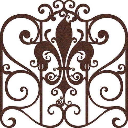Prima - Self Adhesive - Die Cut Felt Art - Elegant Egress Gate