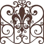 Prima - Self Adhesive - Die Cut Felt Art - Elegant Egress Gate