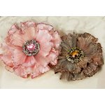 Prima - Rossetti Roses Collection - Fabric Flower Embellishments - Grace
