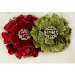 Prima - Rossetti Roses Collection - Fabric Flower Embellishments - Sara