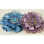 Prima - Rossetti Roses Collection - Fabric Flower Embellishments - Sylvia