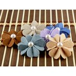Prima - Kalanchoe Collection - Felt Flower Embellishments - Maize, CLEARANCE