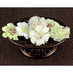 Prima - Petunia Collection - Fabric Flower Embellishments - Chopin, CLEARANCE