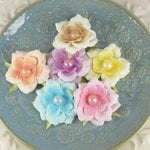 Prima - Angelous Collection - Fabric Flower Embellishments - Armatt, CLEARANCE