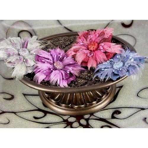 Prima - Guava Peony Collection - Fabric Flower Embellishments - Etude