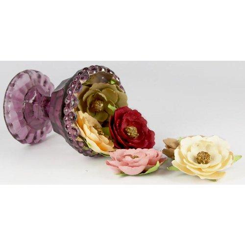 Prima - Vivian Collection - Flower Embellishments - Elizabeth, CLEARANCE