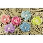 Prima - Faience Collection - Fabric Flower Embellishments - Andree, CLEARANCE
