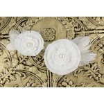 Prima - Magnolia Collection - Flower Embellishments - Audrey, CLEARANCE