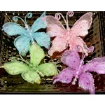 Prima - Swallowtail Butterflies Collection - Jeweled Butterflies - Azure