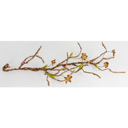Prima - Blossom Branches Collection - Branch Embellishments - Truffle, CLEARANCE