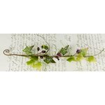 Prima - Winter Branches Collection - Jeweled Branch Embellishments - Plum, CLEARANCE