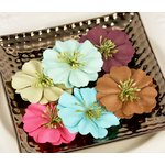 Prima - So Cute Collection - Flower Embellishments - Solid, CLEARANCE