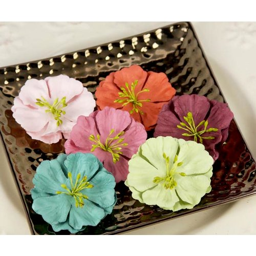 Prima - Fairy Flora Collection - Flower Embellishments - Solid, CLEARANCE