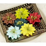 Prima - Road Trip Collection - Flower Embellishments - Solid, CLEARANCE