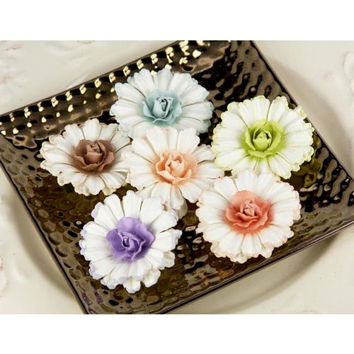 Prima - Roses of Spain Collection - Flower Embellishments - Medeiros, CLEARANCE