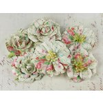 Prima - Orchard Mix Collection - Flower Embellishments - Blushing Picnic