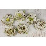 Prima - Orchard Mix Collection - Flower Embellishments - Sahara, CLEARANCE