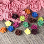 Prima - Arco Iris Collection - Flower Center Embellishments - Moulin Rouge