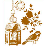 Prima - Melody Collection - Clear Acrylic Stamps - Mix 1