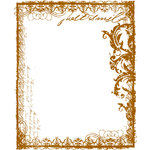 Prima - Melody Collection - Clear Acrylic Stamps - Mix 2