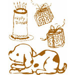 Prima - Celebrate Jack and Jill Collection - Clear Acrylic Stamps - Mix 8
