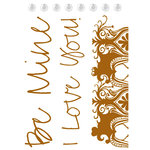 Prima - Celebrate Jack and Jill Collection - Clear Acrylic Stamps - Mix 9