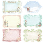 Prima - Celebrate Jack and Jill Collection - Journaling Notecards in a Box