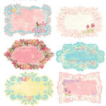 Prima - Sweet Fairy Collection - Journaling Notecards in a Box