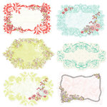 Prima - Sparkling Spring Collection - Journaling Notecards in a Box