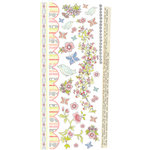 Prima - Sparkling Spring Collection - Rub Ons, BRAND NEW